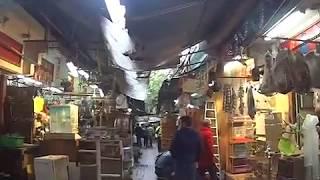 Famous Bird Market in Hong Kong