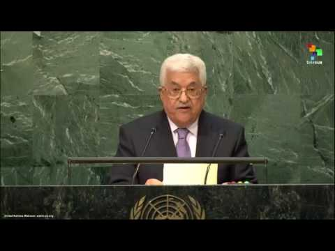 UN Speeches: Mahmoud Abbas President