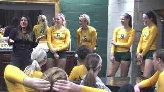 Tech Volleyball vs. Ouachita Baptist Postgame 11/12/15