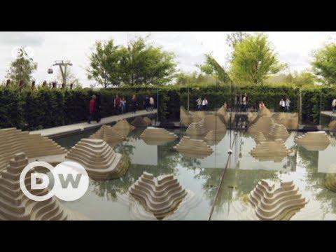 Gang über die Berliner Gartenausstellung IGA | DW Deutsch