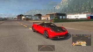 Euro Truck Simulator 2 - Tậu siêu xe Pagani Huayra BC và thử tốc độ tối đa   ND Gaming