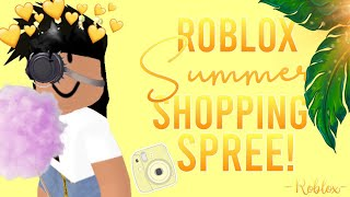 Roblox 𝙎𝙪𝙢𝙢𝙚𝙧 Shopping Spree! 6/1/19.