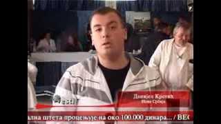 Danijel Krstić,omladina Nove Srbije Vlasotince-Akcija dobrovoljnog davanja krvi