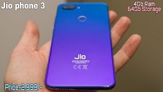 Jio phone 3 First Look - Specification, price , Release date??