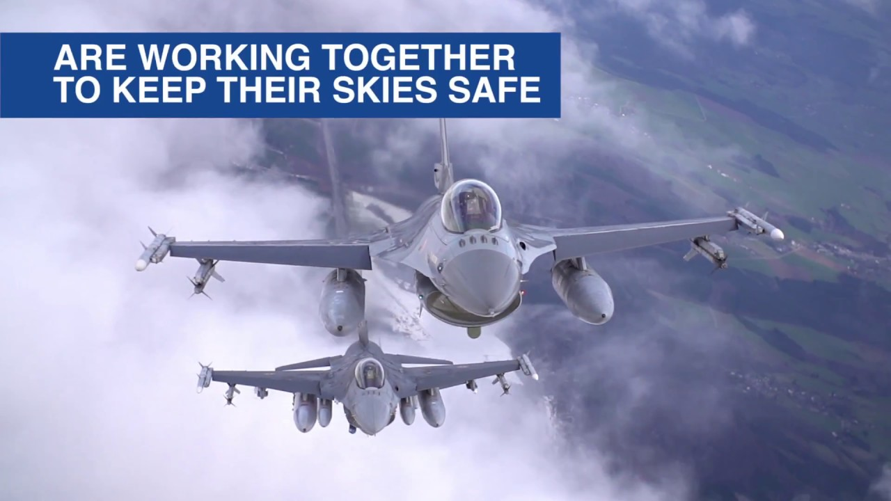 Belgian Quick Reaction Fighter Pilots • Tested for Real in Benelux Air Policing Mission • NATO