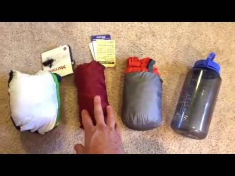 Ultralight Rain Jackets in Stuff Sacks