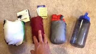 Ultralight Rain Jackets in Stuff Sacks