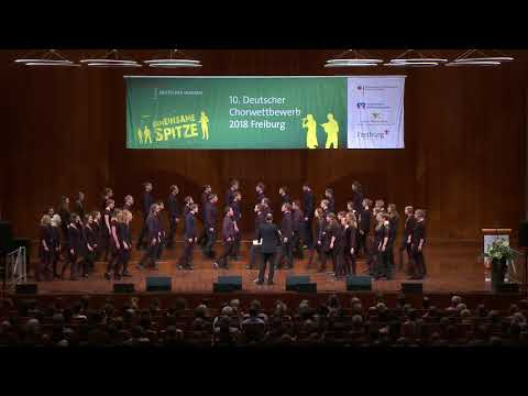 10. DCW-Preisträgerkonzert IV: Kammerchor der Hochschule für Musik und Theater Hamburg (Mai 2018)