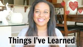 THINGS I'VE LEARNED AS A SECOND TIME MOM