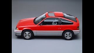 #honda ballade sports cr X 1 5I 1983–1985