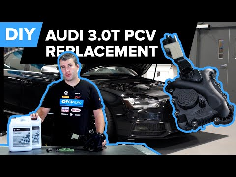 Audi S4 B8 & B8.5 3.0t – PCV Replacement DIY (Audi A7, S4, S5, & SQ5)