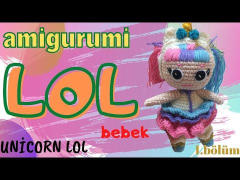 Ravelry: Amigurumi Lol Bebek Yapımı pattern by Örgü Modelleri | 360x480