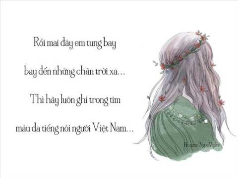 Xinh Tươi Việt Nam (Acoustic Version) - V.Music [Lyrics NgocVyIre]