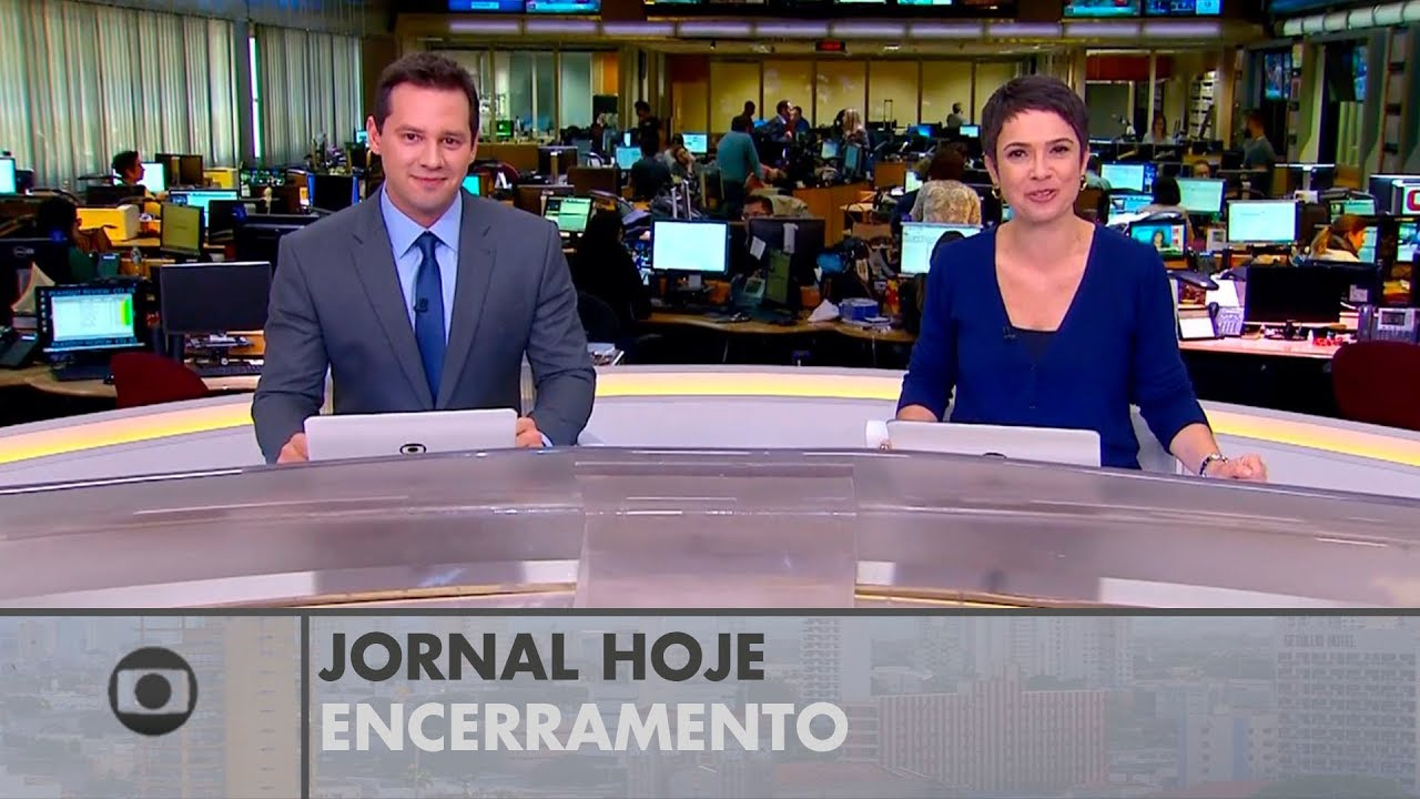 HD Encerramento Do Jornal Hoje 11 08 2017 YouTube