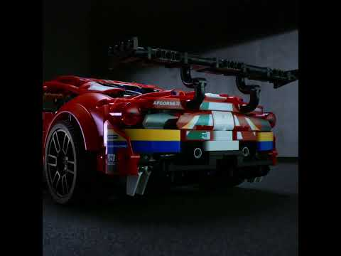 Lego Technic Ferrari 488 GTE - Carscoops