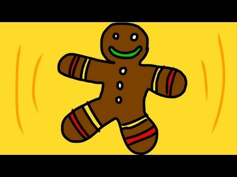 Gingerbread Man Song (Run, run as fast as you can!)