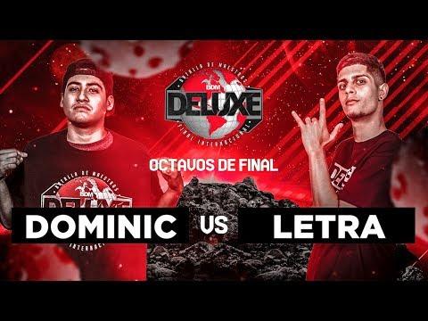 Dominic vs Letra
