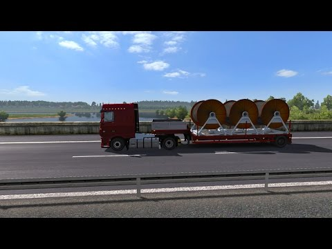 Euro Truck Simulator 2: Episode 262 Cable to Valday (RUS)