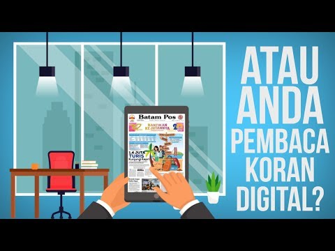 MOTION GRAPHIC MEDIA ONLINE BATAMPOS (VIDEO PROMOSI)