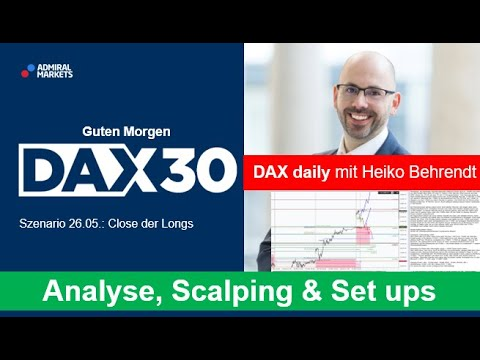 DAX aktuell: Analyse, Trading-Ideen & Scalping | DAX 30 | CFD Trading | DAX Analyse | 26.05.2020