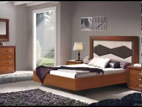 Dormitorios de matrimonio completos en colores madera y