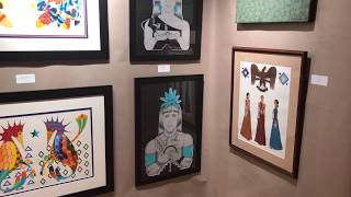 Best Of Show - Paintings Drawings Graphics Photography | Santa Fe Indian Market 2018 Clip 5