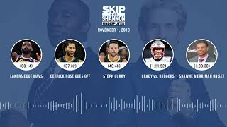 UNDISPUTED Audio Podcast (11.01.18) with Skip Bayless, Shannon Sharpe & Jenny Taft | UNDISPUTED