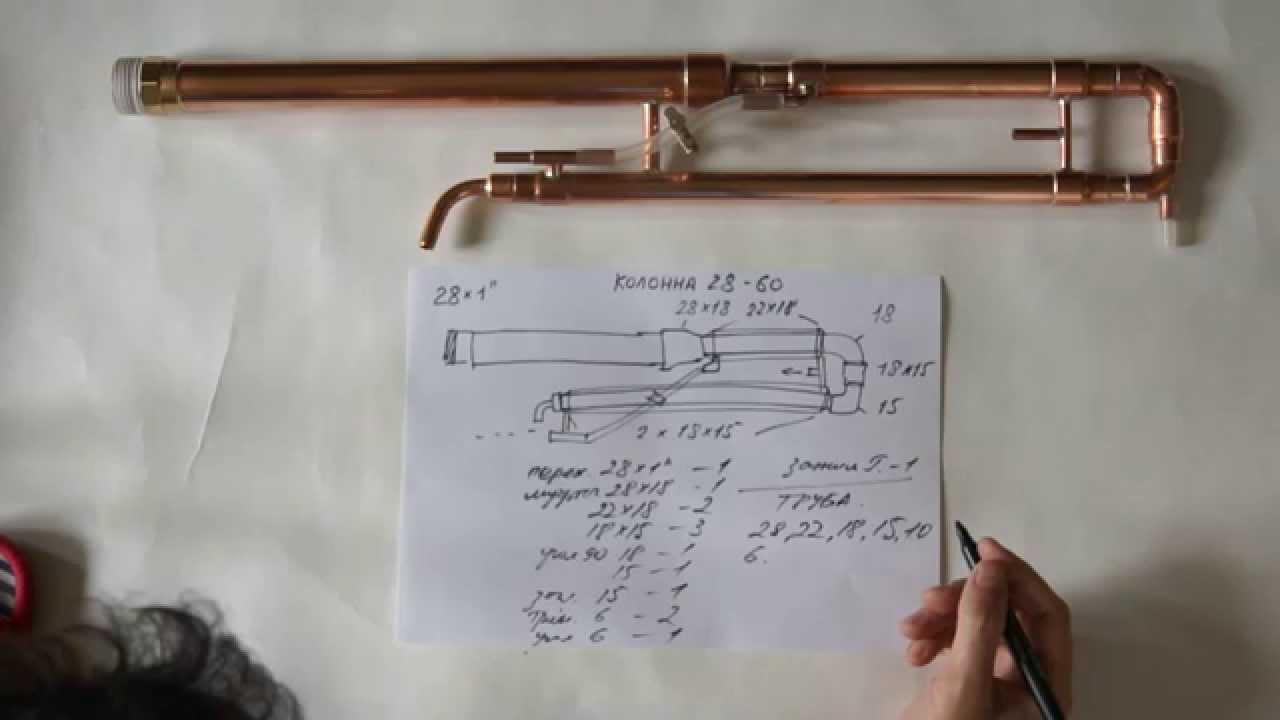 Медный самогонный аппарат своими руками схемы самогонный аппарат на кламп соединениях своими руками