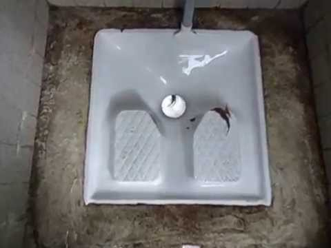France a very funny french outdoor river toilet avi 2015, working