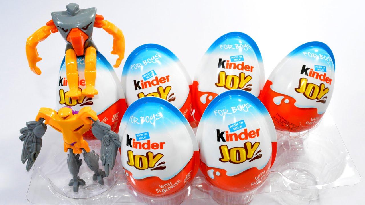 Jos And Toys : Surprise eggs kinder joy toys assembling and de