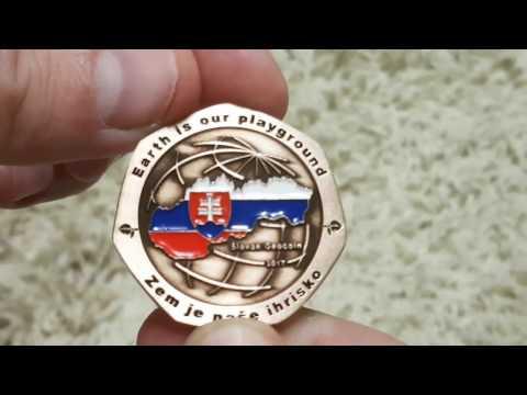 Slovak Geocoin 2017 (promo)
