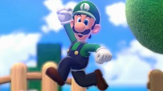 Super Mario 3D World - All Golden Flagpoles with Luigi (World 1)