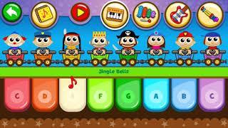 Piano Kids - Music Songs Game for Kids Old McDonald & Jingle Bells  | Kids Songs 1