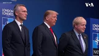 北约领导人抵达英国伦敦参加北约峰会