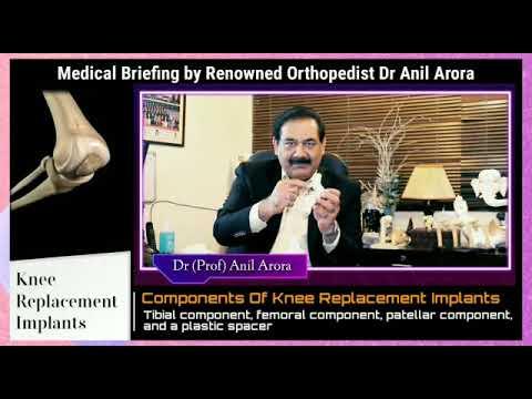 Knee Replacement Implants Bionik Gold Knee: Best knee Hip Replacement Surgeon Delhi Indian. #Orthopedicsurgery