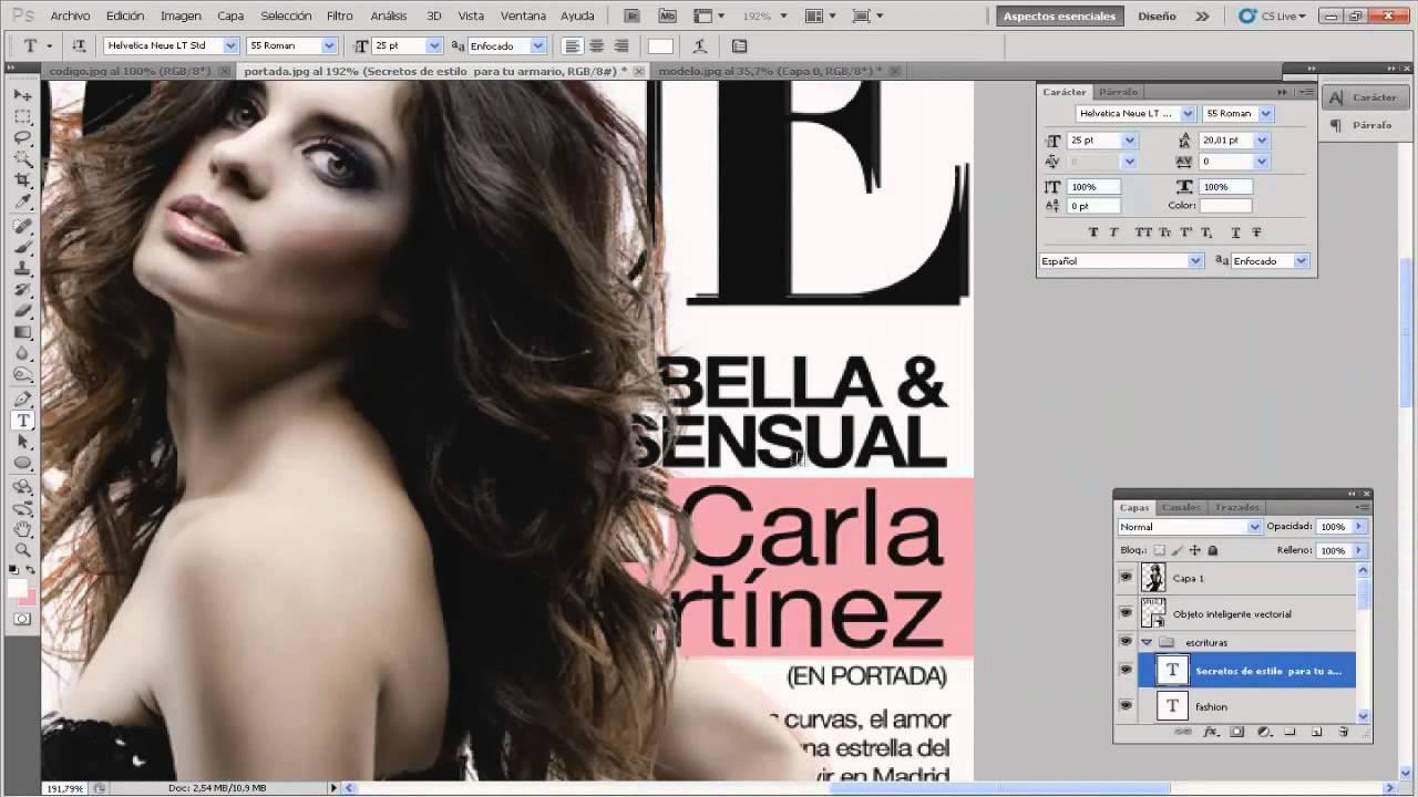 Lujoso Plantilla De Photoshop De Portada De Revista Embellecimiento ...