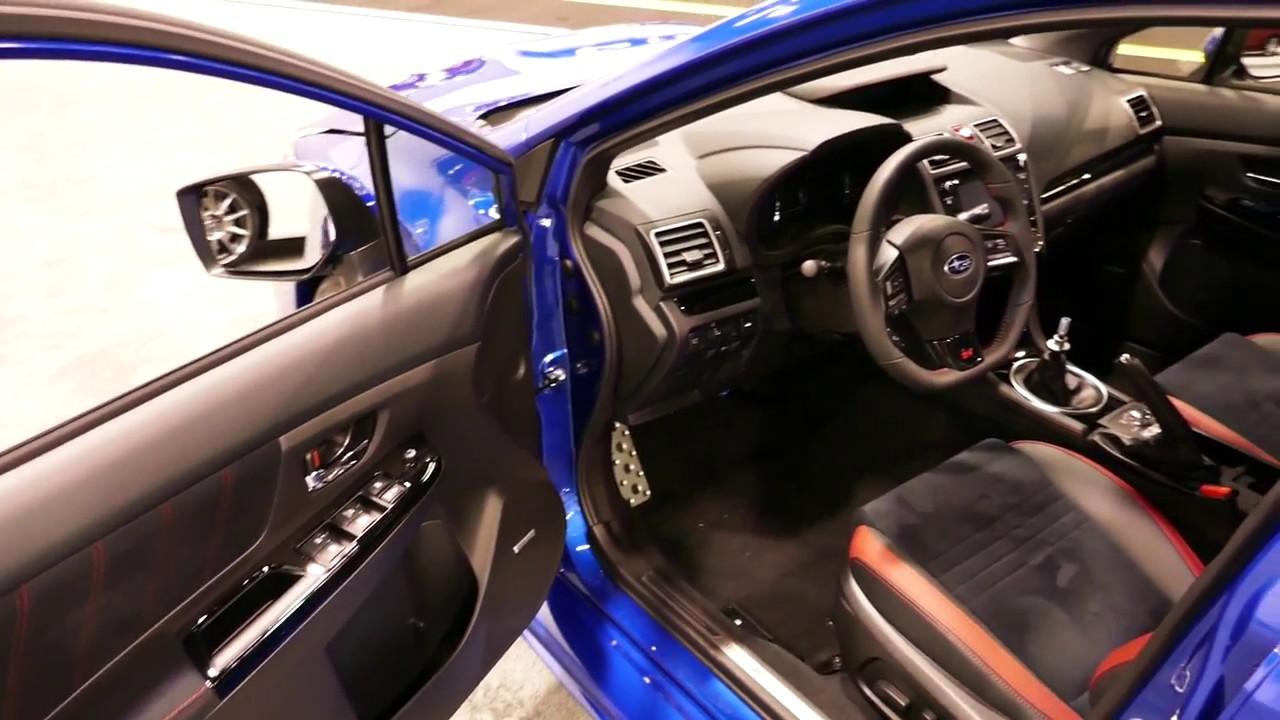 New 2019 Subaru Wrx Sti Limited Interior Tour 2018 Oc Auto Show