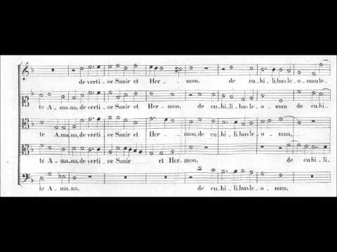 Palestrina: Tota pulchra es