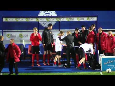 Lochar Thistle v Nithsdale Wanderers (2nd half)(Alba Trophy Final 2016-17)