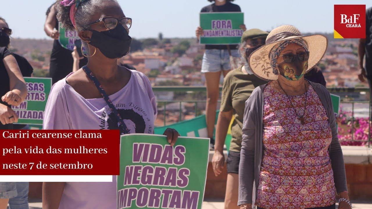 No Cariri, o Grito clama pela vida das mulheres