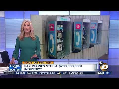 Pay phones still big business in the U.S.?