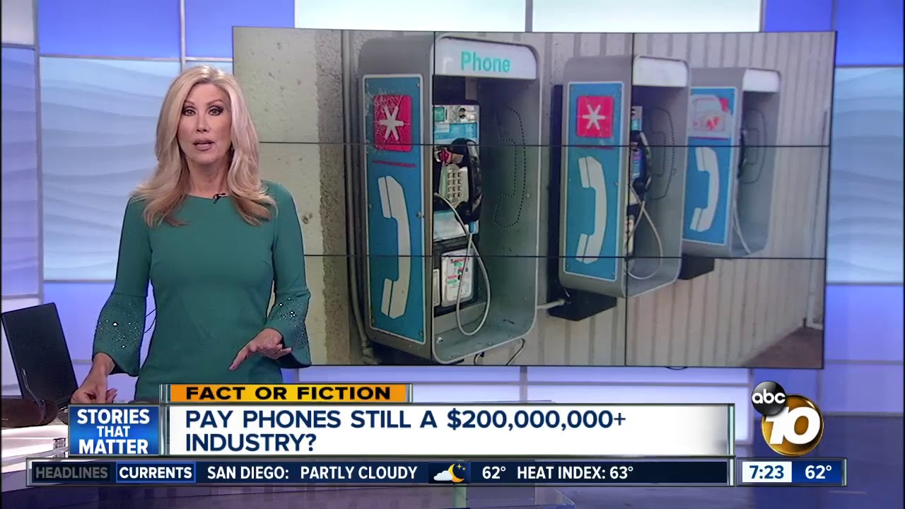 Pay Phones Still Big Business In The U.S.? |Coin-Operated Public Telephones| Pay & Dial | Video