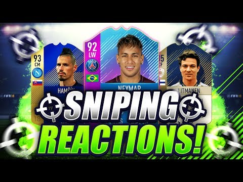 FIFA 18  BEST SNIPES ON FIFA 18 PART 3  SNIPING REACTIONS EP30