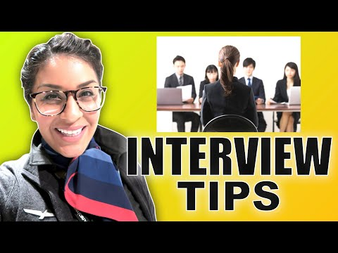 FLIGHT ATTENDANT F2F INTERVIEW TIPS - 2018  |  FLY WITH STELLA