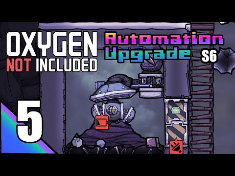 Oxygen Not Included (S6) 5: Capturing Chlorine!  ONI Multi Base Playthrough