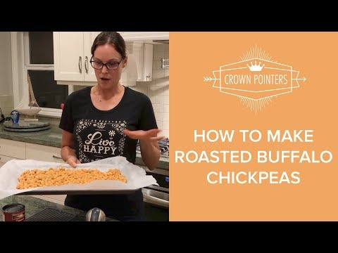How to Make Roasted Buffalo Chickpeas | Vegan