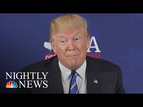 President Donald Trump Fuels Jeffrey Epstein Conspiracy Theories On Social Media | NBC Nightly News