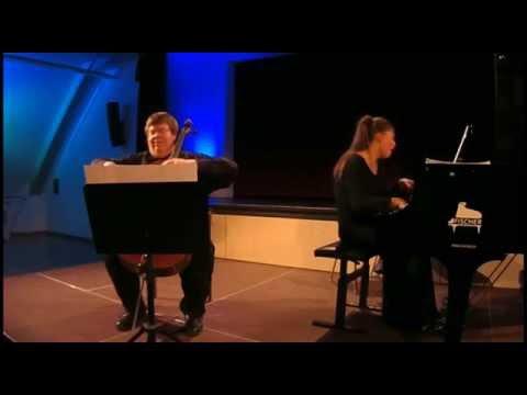 Vladimir Genin: Toccata in C & Adagio con sordino for Cello & Piano