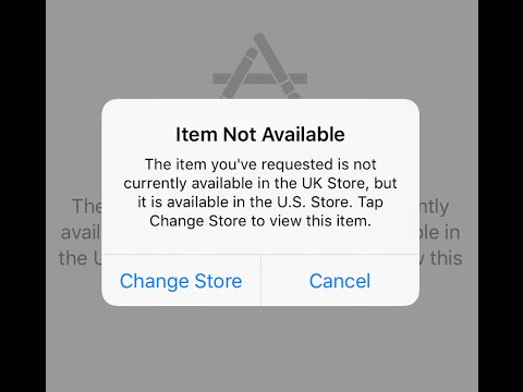 How To Change App Store Country Or Region On IPhone Or IPad No - Not available on the app store
