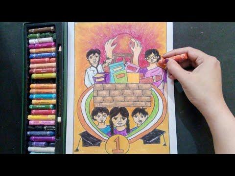 Education For All Drawing || Padhega India tabhi to Badhega INDIA ||